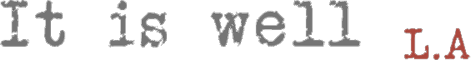 it-is-well-logo